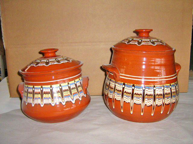Керамични съдове от Керамопласт ЕООД – гювечи, гювечета, сачове, гърнета