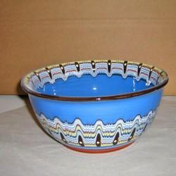 Купа в синьо от керамика от Троян
